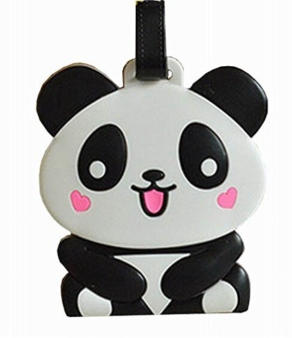 Lovely Cartoon Travel Accessories Travelling Luggage Tag/Id Holder Smiling Panda