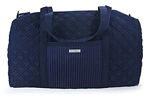 Vera Bradley Luggage Women's Large Duffel Classic Navy Duffel Bag