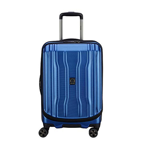 DELSEY Paris Luggage Cruise Lite Hardside 2.0 Carry-on Expandable Suitcase, Blue