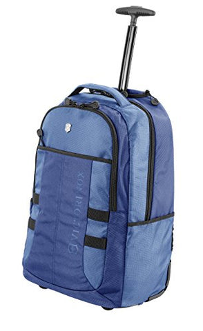 Victorinox Vx Sport Wheeled Cadet Backpack Blue One Size