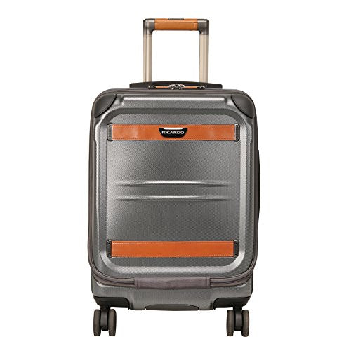 Ricardo Beverly Ocean Drive 3.0 19-Inch Spinner Mobile Office Carry On Luggage, Silver