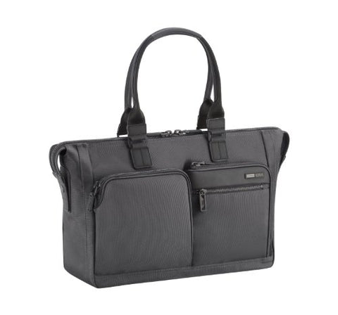 Zero Halliburton Zest Double Front Pocket Tote, Black, One Size