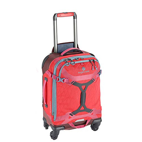 Eagle Creek Gear Warrior 4-Wheel Carry-On Luggage, 22-Inch, Coral Sunset