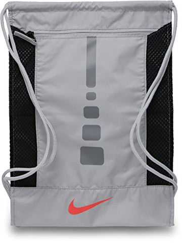 Nike Men's Hoops Elite Basketball Gym Sack Atmosphere Gray