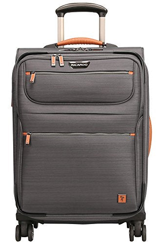 Ricardo Beverly Hills San Marcos 21-inch Carry-on Spinner, Gray