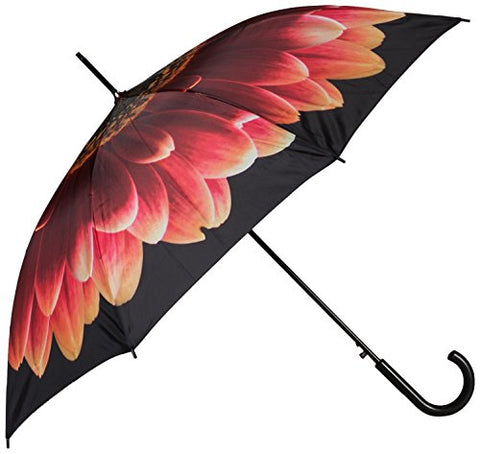 Abbott Collection Orange Marigold Stick Umbrella