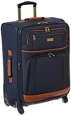 Tommy Bahama Mojito 24 Inch Expandable Spinner, Navy, One Size