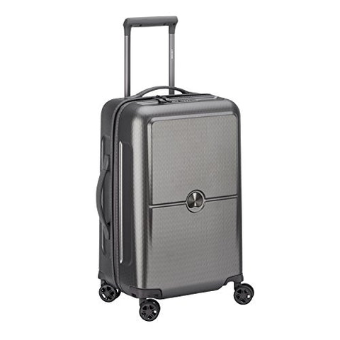 DELSEY PARIS TURENNE Hand Luggage, 55 cm, 43 liters, Silver (Argent)