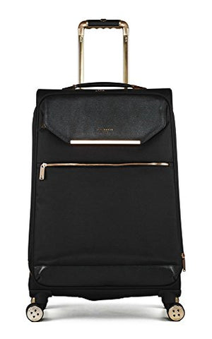 Ted Baker Womens Albany Softside 4WL Large Trolley (One Size, Black)