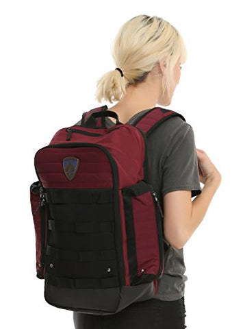 Marvel Guardians Of The Galaxy Built Up Tactical Backpack Tsa Friendly For Travel & Laptops
