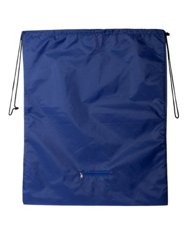 Valubag By Sportsman Nylon Laundry Bag. Vb0091 - One Size - Blue