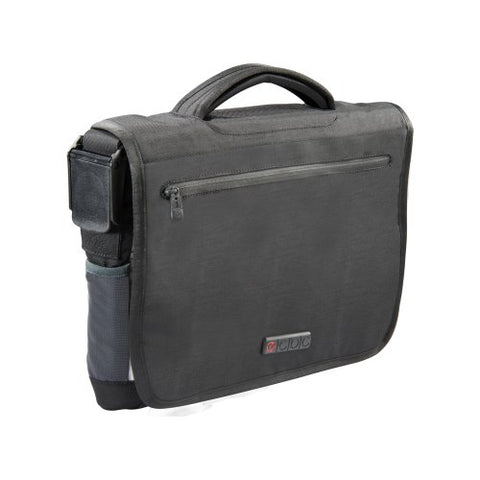 ECBC Poseidon Messenger Bag for 13-Inch Laptop, Black