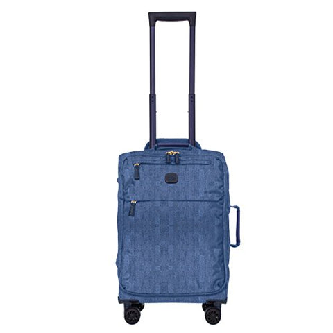 Bric's X-Bag/x-Travel 21 Inch International Carry On Spinner W/Frame, Jean