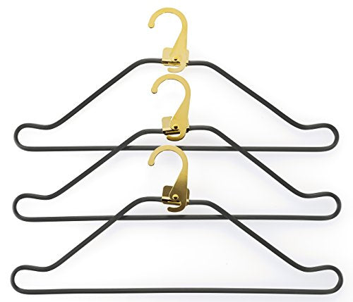 Bric's Luggage Bac03651 Bellagio 3 Suiter Hanger Hook Set, Gold, One Size