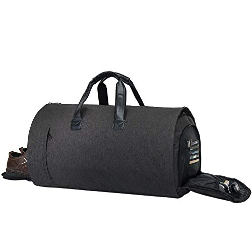 Garment Bag Duffel Luggage Oversized Waterproof,Suit/Blazer Bags/Carry-Garment/Travel/Weekend (Black) ¡­