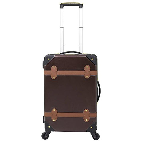 Chariot Titanic 20-inch Hardside Upright Spinner Carry, Brown