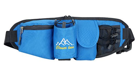 Waist Pack Portable Fanny Pack Outdoor Travel Waterproof Waist Bag for Running Cycling Camping