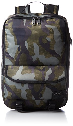Diesel Men's Ranks F-Close Back Backpack, Military Camo