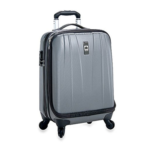 The Classic Grey Delsey Helium Shadow 19-Inch Hardside International Carry On Luggage
