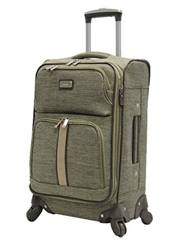 "Nicole Miller Cameron Collection 28"" Expandable Luggage Spinner (28in, Cameron Green)"