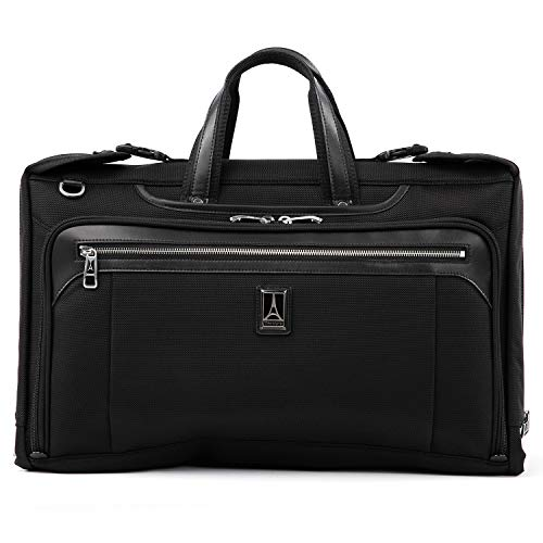 "Travelpro Luggage Platinum Elite 20"" Carry-on Tri-Fold Garment Bag, Shadow Black"