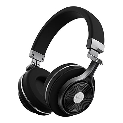 Bluedio T3 Bluetooth Headphones On Ear With Mic, 57Mm Driver Folding Wireless Headset, Wired And