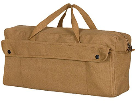 Fox Outdoor Products Jumbo Mechanic Tool Bag with Brass Zipper, Jumbo, Coyote Brown