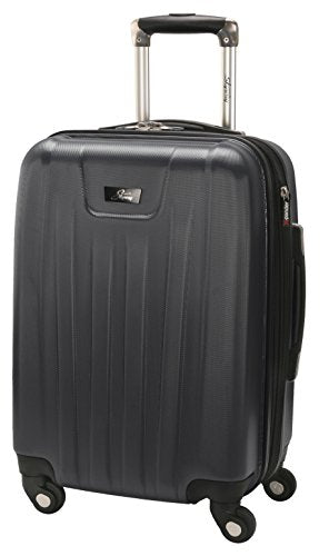 Skyway Nimbus 2.0 20-Inch 4 Wheel Expandable Carry-On, Black