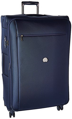 Delsey Luggage Montmartre+ 29 Inch Expandable Spinner Suitcase, Navy