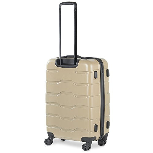 b281a7f15430 Shop Vonhaus Premium Champagne 3 Piece Lightweight Luggage Set ...