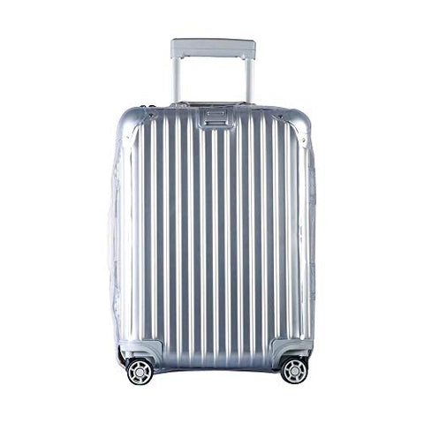 Waterproof Pvc Cover For Rimowa Topas Luggage Protector Cover Travel Luggage Case With Red Zipper
