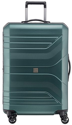 "Titan Bags Prior Senolite 30"" Hardside Checked Spinner Luggage (Deep Petrol)"