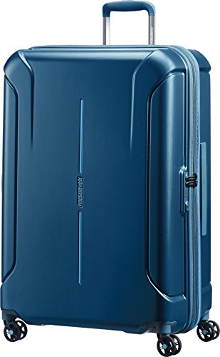 American Tourister Technum Spinner Hardside 28, Metallic Blue