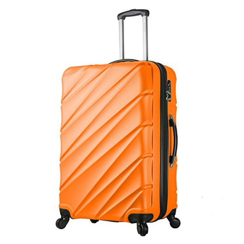 Viaggi V1015L-30In-Org Italy Lodi Hardside 30 Inch Spinner, Orange