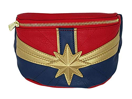 Loungefly Captain Marvel Faux Leather Fanny Pack Standard