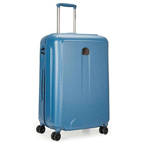Delsey Luggage Embleme 25 Inch Trolley, Blue
