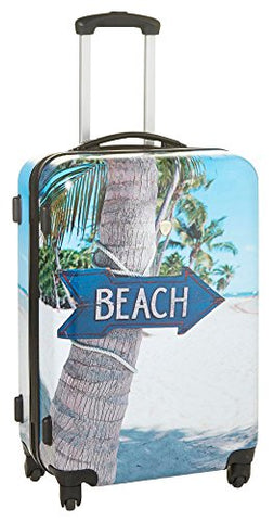 Dejuno Beach Hardside Luggage Set Of 3