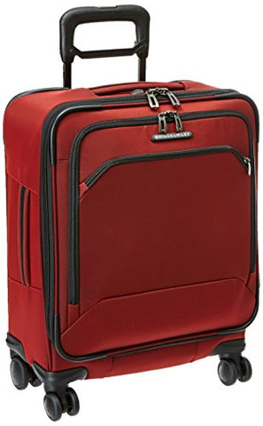 Briggs & Riley International Carry-On Wide-Body Spinner, Crimson, One Size