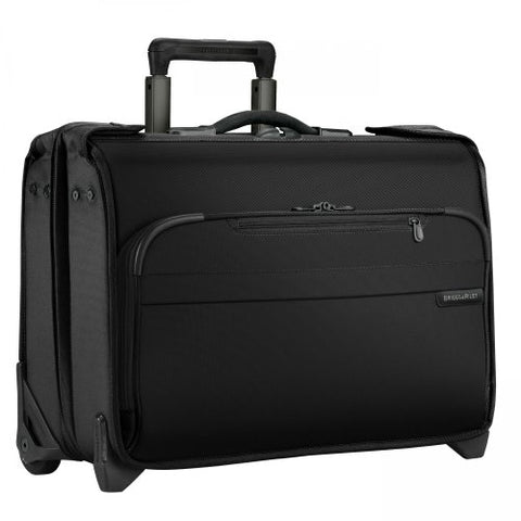 Briggs & Riley Baseline Carry-On Wheeled Garment Bag (Black)