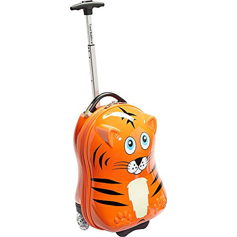 "TrendyKid Travel Buddies Tiger 18"" Carry-On (Tiger Orange)"