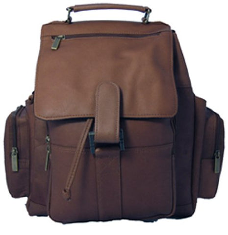 David King & Co. Top Handle X-Large Backpack, Cafe, One Size