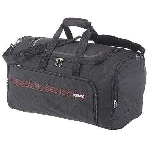 American Tourister Airbeat - Duffle Bag 55/22 Travel Duffle, 55 cm, 51.5 liters, Black (Universe Black)