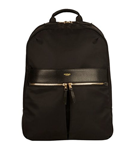 Knomo Luggage Beauchamp 14 Business Backpack 16.5 X 11.6 X 3.9, Black, One Size