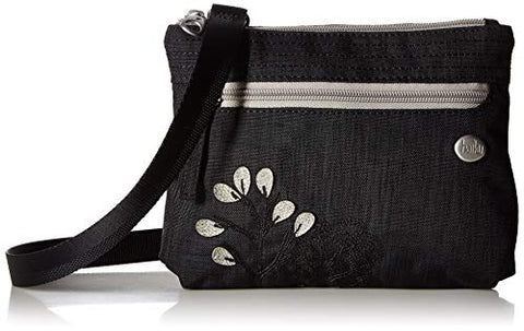 Haiku Impulse RFID Crossbody Bag, Black Morel