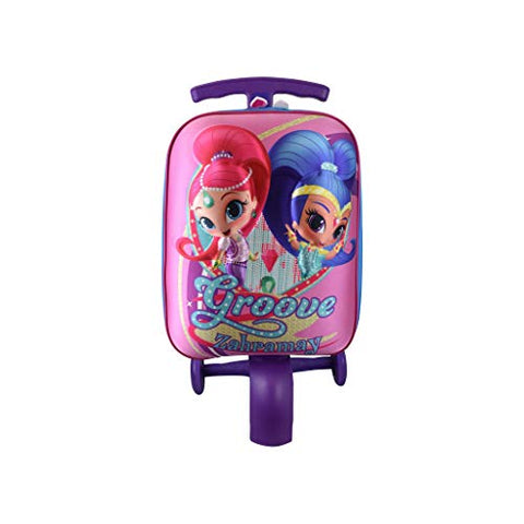 ATM Kid's Shimmer and Shine Scootie Luggage
