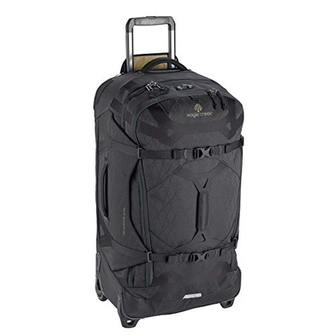 Eagle Creek Gear Warrior 2-Wheel Rolling Duffel Bag, 30-Inch, Jet Black