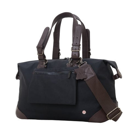 Token Bags Lafayette Waxed Duffel Bag, Black, One Size