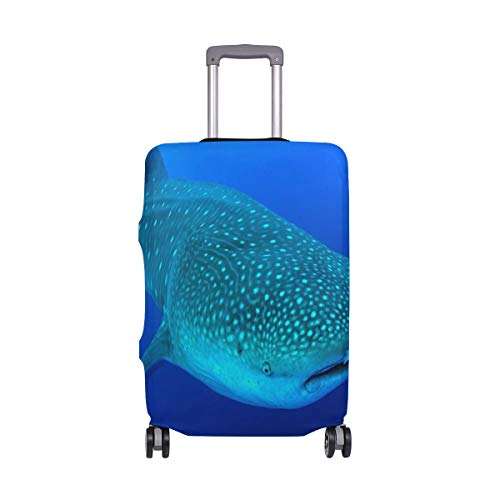 Suitcase Cover Belize Whale Sharks Luggage Cover Travel Case Bag Protector for Kid Girls