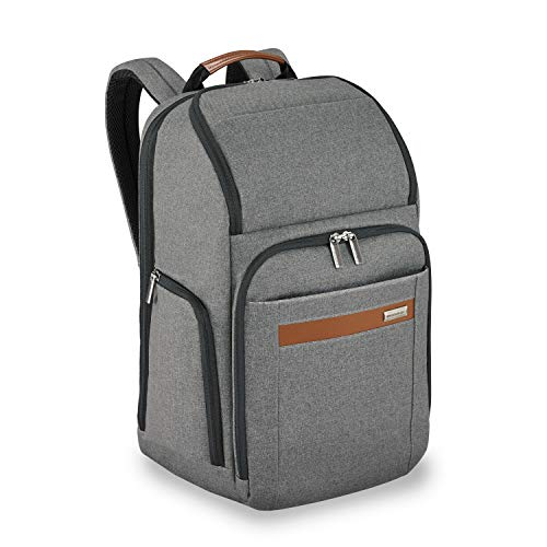 Briggs & Riley Kinzie Street Large Backpack, Grey, One Size