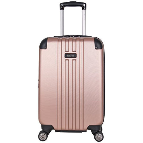 "Kenneth Cole Reaction 20"" Abs Expandable 8-Wheel Carry-On Luggage, Rose Gold"